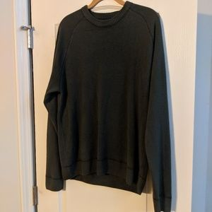 Grey Crew Sweater